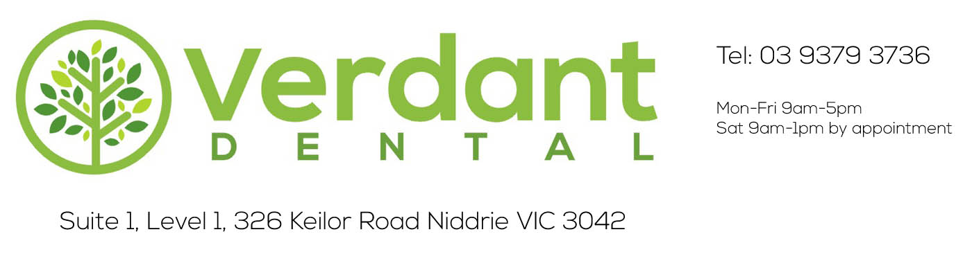 Verdant Dental: The Friendliest Dentists at 1/1 326 Keilor Road Niddrie 3042!